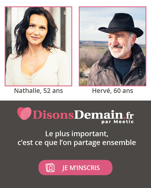 Rencontre mobile avec DisonsDemain par Meetic Irancy