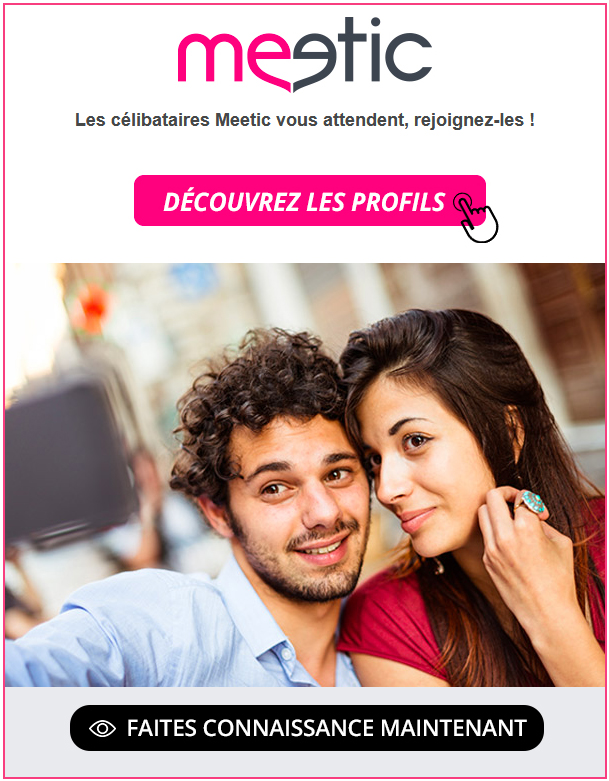 Rencontre mobile avec Meetic Saint-Trinit